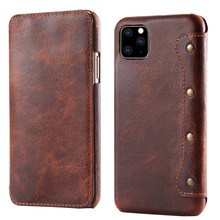 Real Leather Wallet for New iPhone 12 Pro Max 2020 Coque iPhone 11Pro Case Flip Cover for iPhone 11 Case iPhone12 Mini XS Funda