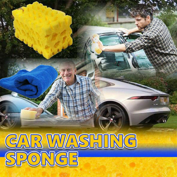 Detailing Coral Sponge Washing Cleaning Block Soft Absorbency Extra Large Car-Washing Sponge Honeycomb Home Cleaneing Product 1