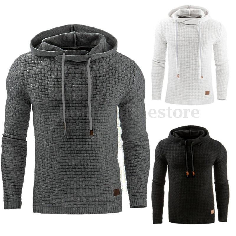 men hoodies 2020 Autumn Men's Hoodies Slim Hooded Sweatshirts Mens Coats Male Casual Sportswear Streetwear Clothing