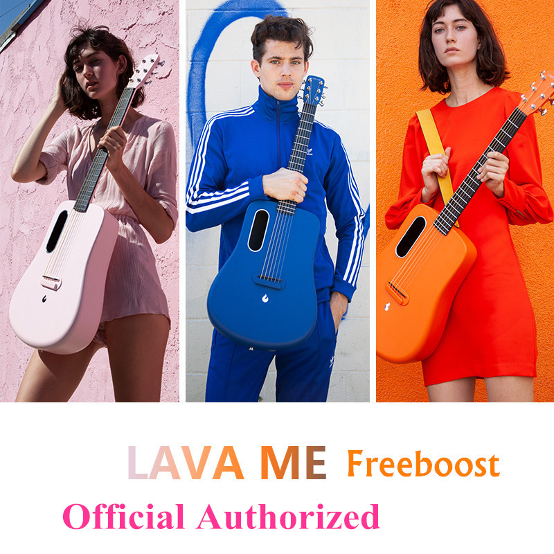 LAVA ME 2 <font><b>36</b></font> inch Freeboost <font><b>Guitar</b></font> Carbon Fiber L2 Pickup With Picks Hard Case Official Authorized 2020 Recommend Super AirSonic image