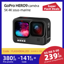 Action-Camera Front-Screen Sports Cam Photos Gopro Hero9 Black Live-Streaming Go-Pro