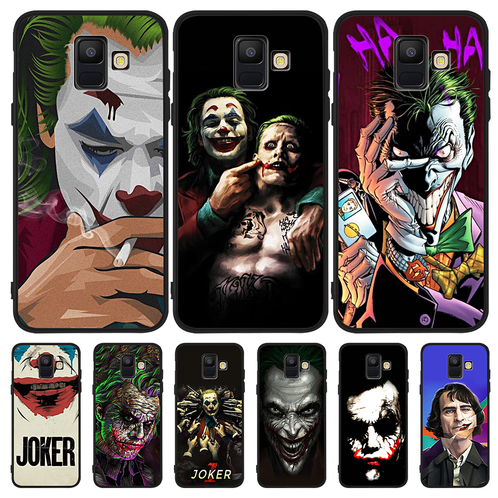 joker DC boy 2019 silicone For Samsung Galaxy A9 A8 A7 A6 A5 A3 J3 J4 J5 J6 J8 Plus 2017 2018 M30 A40S A10 A20E phone Case Cover image