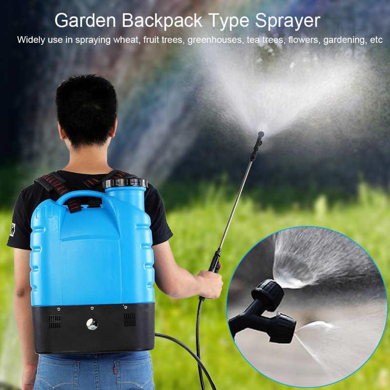 16L Electric Backpack Type Agricultural High Pressure Sprayer Gardening Tool 110V US Plug Paint Gun Garden Supplies-2