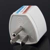 1pc Universal Travel Adapter US AU UK to EU Plug Travel Wall AC Power Adapter 250V 10A Socket Converter WhiteHot   free shipping