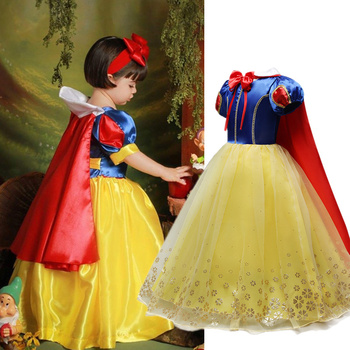2020 Children Girl Dress for Girls Prom Princess Dress Kids Baby Gifts Intant Party Clothes Fancy Teenager Clothing 1