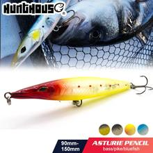 Hunthouse 90/110/130/150Mm Asturie Vissen Lokken Lange Casting Potlood Stickbait Lokken Super Shot Drijvende trolling Wobblers Leurre(China)