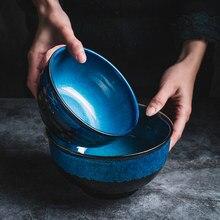 Casa de campo em ceramica trama casale colore smaltato personalita ciotola macarrão insalatiera zuppa di porcellana utensili cucina