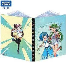 Anime Pokemon Album titolare della carta raccoglitore 240 pezzi mappa dei cartoni animati gioco di carte da gioco cartella elenco caricato collezione regalo giocattolo per bambini