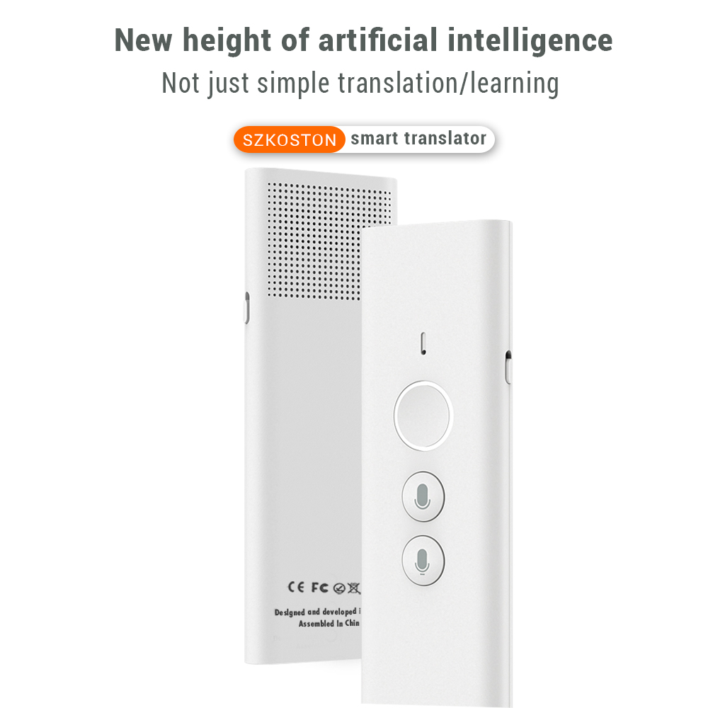 40 Languages Muama Enence Tradutor Smart Voice Translator Instant Real Time Multi-language Translator For туризм Business