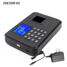 Time-Clock Employee-Recorder Fingerprint Attendance Biometric Device Office Usb-Password