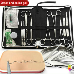 Image 1 - 7/12/15/20 unids/set herramientas de SUTURA QUIRÚRGICA DE 14cm, kit de herramientas de instrumentos de entrenamiento de operación para médicos/ciencias/estudiantes