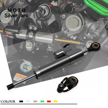 Universal Adjustable Motorcycle Steering Damper Stabilizer Bracket Kit For Suzuki Honda Yamaha BMW Kawasaki Ducati Ducati