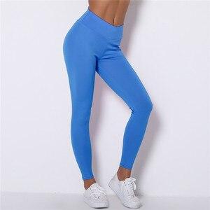 Image 5 - Kaminsky לדחוף את נשים Spamdex 8% חותלות גבוהה מותן מכנסי קזואל Mujer אופנה קמטים ספורט כושר חותלות 8 צבע