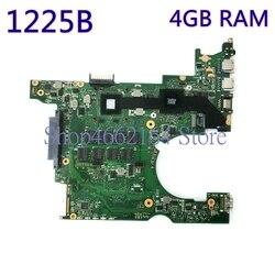1225B Laptop płyta główna 4GB RAM REV2.0 dla ASUS EEE PC 1225B notebook płyta główna testowane działa w pełni przetestowane darmowa wysyłka