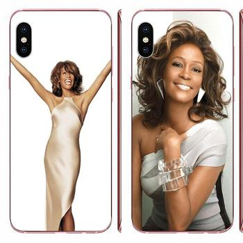 For LG G3 G4 G5 G6 G7 K4 K7 K8 K10 K40 K50 Q6 Q60 V10 V20 V30 V40 Nexus 5 5X 2017 Nice Phone Cases Whitney Houston Pattern image