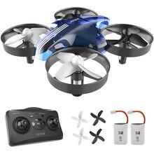 Mini Drone Telecomando Dron Rc Quadcopter Elicottero Quadrocopter 2.4G 6 Assi Gyro Micro con Headless Modalità di Attesa Altitudine