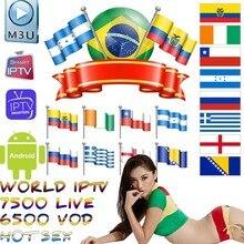 World IPTV 7500 + Live Free Sports Adult Xxx For Tv Box Ssma