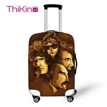 Thikin Rock And Pop The Queen Band Travel Luggage Cover for Girl School Trunk Suitcase Protective Bag Protector