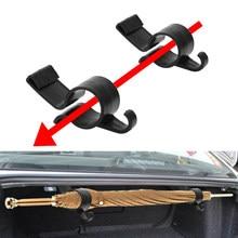 2 teile/satz Auto Stamm Regenschirm Halter Clip Organizer für Toyota Auris Corolla Avensis Verso Yaris Aygo Scion TC IM