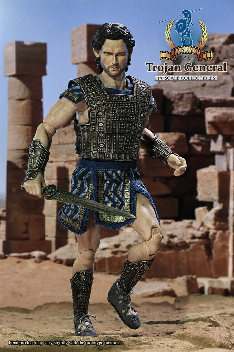 Full set 1/6 Scale PangaeaToy PG-03 TROJAN GENERAL Soldier Figure 12inches For Collectible Gift Dolls TOYSDAO TD-03 figure doll 1