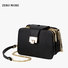 цена на 2019 Spring New Fashion Women Shoulder Bag Chain Strap Flap Designer Handbags Clutch Bag Ladies Messenger Bags With Metal Buckle