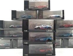 LB работает 1:64 LBWK LAMBO Aventador 2,0 мартини с моделью автомобиля