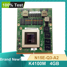 Brand New K4100M K4100 DDR5 4Gb Video Graphics Card N15E-Q3-A2 Voor Dell M6700 M6800 Hp 8770W ZBook15 G1 g2