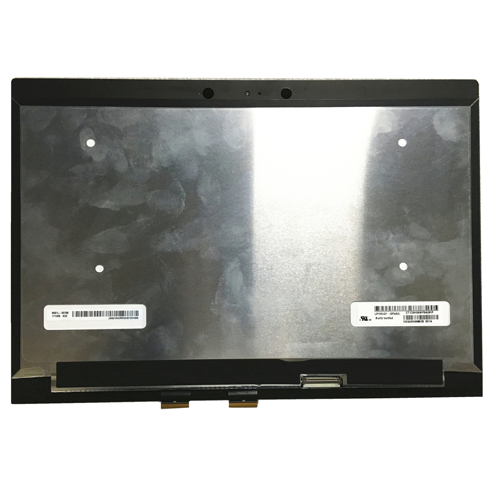 "13.3/"" HP Spectre X360 13-4193dx 4003dx QHD Full LCD Display Touch Assembly+Frame"