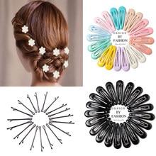 60-6 pçs grampo de cabelo feminino menina grampo de cabelo hairgrip doce ornamento de cabelo barrettes acessórios de cabelo ferramenta de estilo headwear
