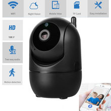 1080P Full HD Wireless IP Camera Wifi IP CCTV Camera Wifi Mini Network Video Surveillance Auto Tracking Camera IR Night Vision