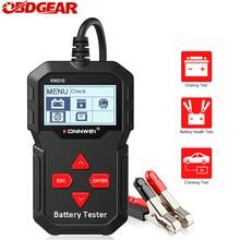 Newest Konnwei KW210 Automatic Smart 12V  Car Battery Tester  100 2000 CCA Car Battery Analyzer Auto Repair Tool Regualr Flooded