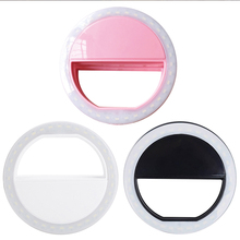 Fill-Light Camera Phone Led-Ring Photography Selfie Huawei Android Portable for Matcheasy