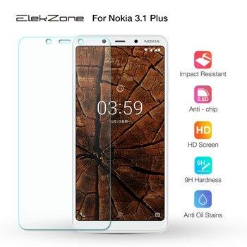 Перейти на Алиэкспресс и купить Для Nokia 3,1 плюс 2 шт. Экран защитная пленка, стекло закаленное защитная пленка для Nokia 3,1 Plus HD с уровнем твердости 9H Стекло прозрачное переднее ...