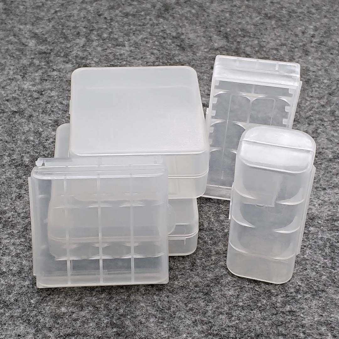 Durable 26650 18650 Batterie Lagerung Box Hard Case Halter Für 2/4 18650 4x AA 4xAAA Akku Power Bank kunststoff Fällen