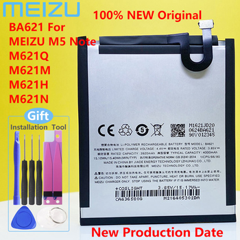 NEW Original MEIZU BA621 Battery For Meizu Note5 / M5 Note M621N/M621Q/M621H Mobile Phone +Tracking Number недорого