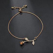 2020 new small fresh rose flower bracelet Valentine's Day birthday gift
