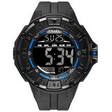 Smael мужские цифровые часы водонепроницаемые военные спортивные