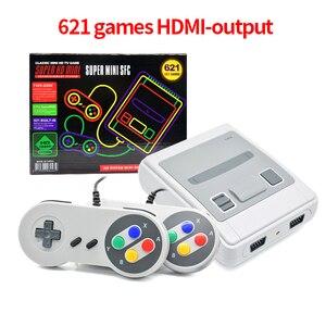 Image 5 - 620/621 משחקי ילדות רטרו מיני קלאסי 4K טלוויזיה AV/HDMI 8 קצת וידאו קונסולת משחקים ניידים משחקי נגן מתנה pk 600 משחקים
