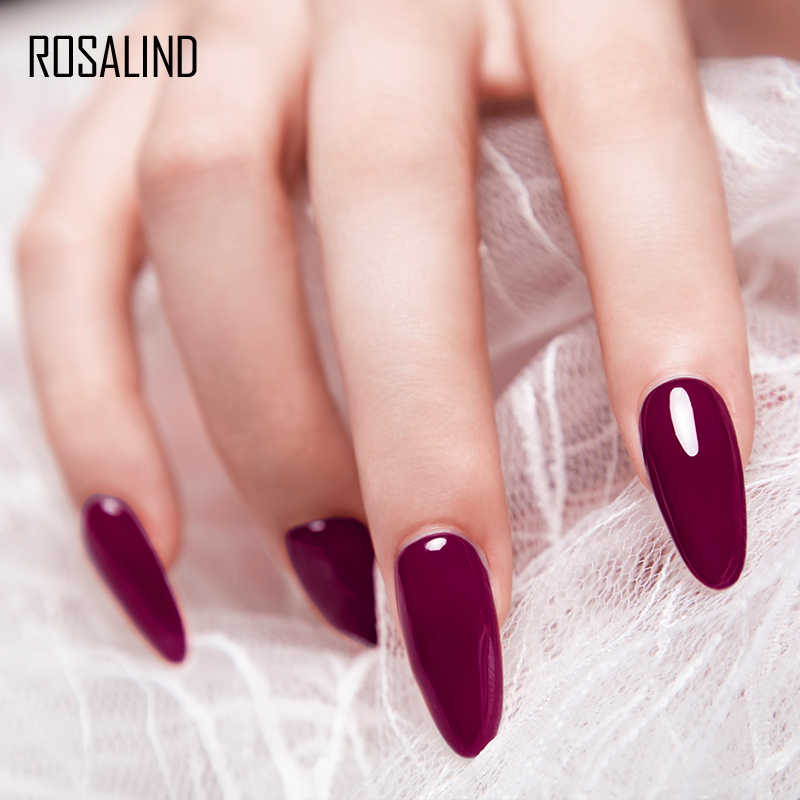 Rosalind Nail Gel Vernis Kleurrijke Gel Nagellak Set Manicure Top Base Alle Voor Nagels Uv Semi Permanente Cuticle Primer gellak