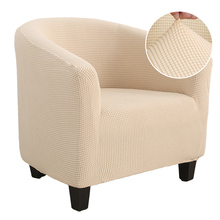 Knitter Jacquard Sofa Armchair Seat Cover Elastic Coffee Tub Sofa Armchair Seat Cover Protector Slipcover Home