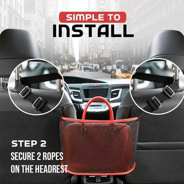 Car Net Pocket Handbag Holder 3