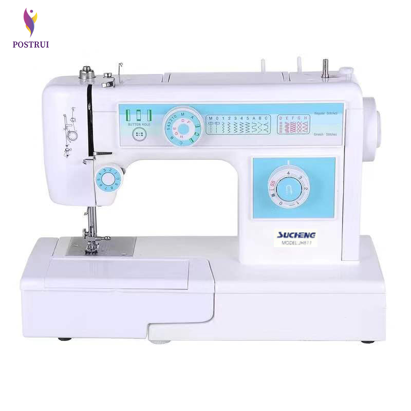 Multi-function Household Sewing Machine Aluminum Alloy Movement Double Needle Embroidery Sewing Machine
