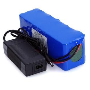 Image 3 - Умное устройство для зарядки никель металлогидридных аккумуляторов от компании Liitokala: 36V 12Ah 18650 Литий Батарея нагрудная сумка высокого Мощность 12000 мА/ч, мотоцикл электромобиль велосипед Скутер с BMS + 2A Зарядное устройство