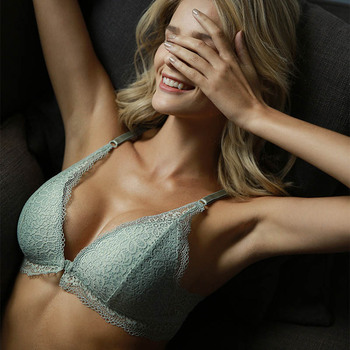 Lace Wireless Front Closure Bra