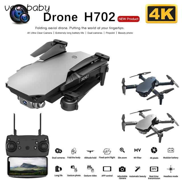 H702 Mini WiFi FPV HD RC Drone  Camera Altitude Hold Mode Foldable RC Drone Quadcopter Remote Control Drone 1