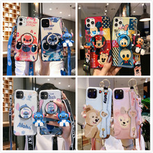 Stitch etui na telefon IPhone 11 Pro Max XR XS etui śliczne pokrywa silikonowa na IPhone 7 8 6s Plus etui na telefon Cartoon miękka TPU Funda(China)