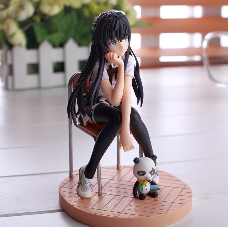 14 5 cm Yukinoshita Yukino Anime Action Figure Toys My Teen Romantic Comedy SNAFU PVC Toy New Collection Figures Toys in Action Toy Figures from Toys Hobbies
