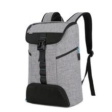Anti theft nowy 17 17.3 Cal plecak na laptopa 15 15.6 torba na notebooka Sony HP Dell Super lekki górny boczny styl otwierania plecak