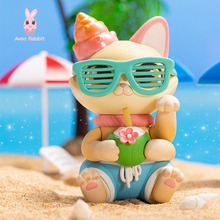 Toys Blind-Box-Toys Guess-Bag Figures Anime Cute Cat Ciega Model Caja Desktop Drinks