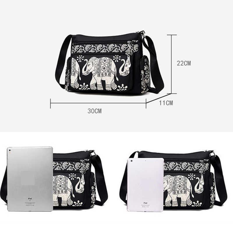 Bolsa transversal oxford feminina, bolsa de ombro europa simples